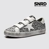 [SNRD 슈퍼스타 벨크로스니커즈] SN165 스톤그레이