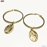 [섹스토]SEXTO - [써지컬스틸][귀걸이]G-TYPE 008 GOLD