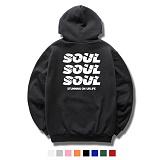 [DASOUL]다소울[7UMH-06] - soulsoulsoul - 기모 후드 - 8COLOR