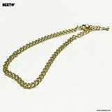 SEXTO - [써지컬스틸][팔찌]W-TYPE 001 bracelet GOLD
