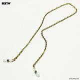 [섹스토]SEXTO - [써지컬스틸][안경줄]W-TYPE 003 E.L GOLD