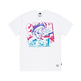 STIGMA - CARTOON T-SHIRTS WHITE 반팔티셔츠 라운드넥