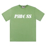 [PilBOSS] 필보스 17 S/S STANDARD LOGO 반팔티셔츠 연두 P292