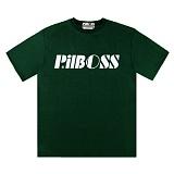 [PilBOSS] 필보스 17 S/S STANDARD LOGO 반팔티셔츠 초록 P296