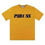 [PilBOSS] 필보스 17 S/S STANDARD LOGO 반팔티셔츠 머스타드 P301