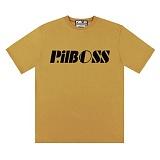 [PilBOSS] 필보스 17 S/S STANDARD LOGO 반팔티셔츠 베이지 P302