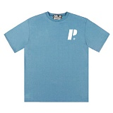 [PilBOSS] 필보스 17 S/S POINT LOGO 반팔티셔츠 하늘 P330