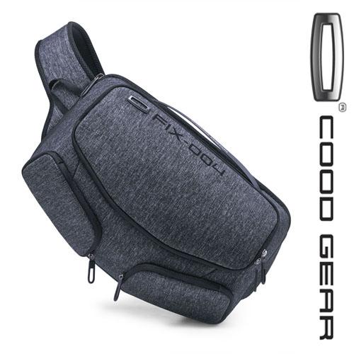 [쿠드기어]COODGEAR - FIX 004 SLING BAG(GREY) 슬링백