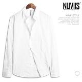 [뉴비스] NUVIIS - 스퀘어 린넨 긴팔 셔츠 (DB049SHH)