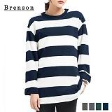 [Brenson]브렌슨 - 루즈핏 10수 세임스트라이프 티셔츠 4컬러