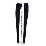 [비에스래빗] Modern Line track pants_Black 사이드라인팬츠 레터링팬츠 긴바지