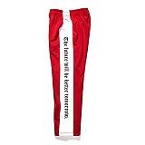 [비에스래빗] Modern Line track pants_Red 사이드라인팬츠 레터링팬츠 긴바지
