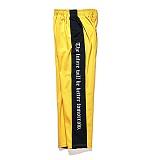 [비에스래빗] Modern Line track pants_Yellow 사이드라인팬츠 레터링팬츠 긴바지