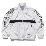 [비에스래빗] Crush track jacket_White 트랙자켓 점퍼