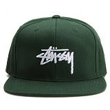 [스투시] STUSSY STOCK SP17 CAP (GREEN) [131697-GREN]