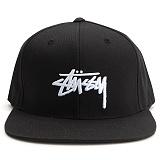 [스투시] STUSSY STOCK SP17 CAP (BLACK) [131697-BLAC]
