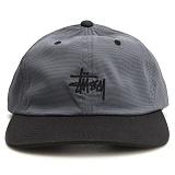 [스투시] STUSSY MINI HOUNDSTOOTH CAP (BLACK) [131675-BLAC]