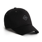 [플래토] PLATEAU - SQ LOGO CAP_BLACK