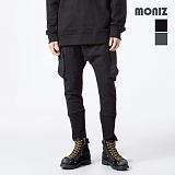 [모니즈] MONIZ  시보리 베기팬츠 PCT093