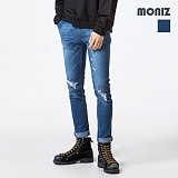 [모니즈] MONIZ  데미지 청바지 PDN263