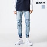 [모니즈] MONIZ  밴딩 조거 청바지 PDN264