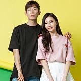 [모니즈] 10수 핑퐁 반팔 티셔츠 (4color) TSB006