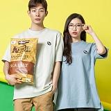 [모니즈] 10수 럭비 반팔 티셔츠 (4color) TSB002
