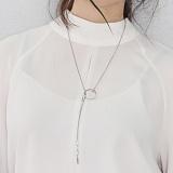 [러쉬오프] RUSHOFF Silver Innocenet Long Chain Necklace / 실버 이노센트 롱 체인 목걸이