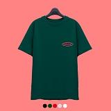 [superlative] 슈퍼레이티브 [7SMH01] COLOR MIX LOGO 반팔 티셔츠 - 반팔 티셔츠 - 5컬러