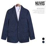 [뉴비스] NUVIIS - 남성 경량 테일러드 카라 자켓 (MR041JK)