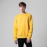[티아즈] Teeaz - Double Layered Napping Sweatshirt (Mustard) 무지 맨투맨 크루넥 스��셔츠