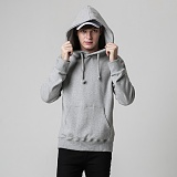 [티아즈] Teeaz - 3 Layer Zzury Hoodie (Grey) 후디 무지 후드 티셔츠