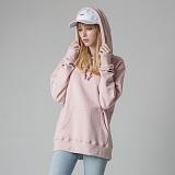 [티아즈] Teeaz - 3 Layer Zzury Hoodie (pink) 후디 무지 후드 티셔츠