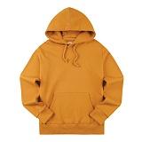[티아즈] Teeaz - 3 Layer Zzury Hoodie (Mustard) 후디 무지 후드 티셔츠