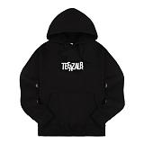 [티아즈] Teeaz - ZigZage Hoodie (Black) 후디 후드 티셔츠
