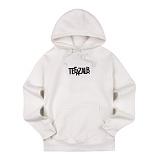 [티아즈] Teeaz - ZigZage Hoodie (Ivory) 후디 후드 티셔츠