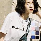 [언리미트]Unlimit - Potential Tee (U17BTTS14) 반팔티 반팔 티셔츠