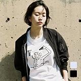 [언리미트]Unlimit - Nat2 Tee (U17BTTS32) 반팔티 반팔 티셔츠