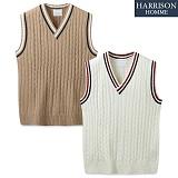 [해리슨] HARRSION 스쿨 꽈베기 조끼 MT1438