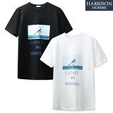 [해리슨] HARRSION 스케이트 전사 반팔  NTC1166