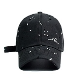 [슬리피슬립]SLEEPYSLIP - [unisex]PAINTING SLEEPING CHARCOAL BALL CAP  볼캡 야구모자