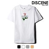 [DISCENE] 디씬 스프링 바씨 반팔 티셔츠 7컬러