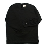 프랭크도미닉 - 버클 풀오버 셔츠(블랙)