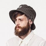 와일드브릭스 - STRIPE BUCKET HAT (khaki) 버킷햇 스트라이프