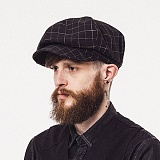 와일드브릭스 - CT NEWS BOY CAP (black) 뉴스보이캡 빵모자