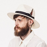 [와일드브릭스] WILDBRICKS - PANAMA HAT (ivory) 파나마햇