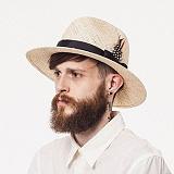 와일드브릭스 - PANAMA HAT (beige) 파나마햇