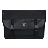 [에이비로드]ABROAD - Basic Messenger Bag (black) 베이직 메신저백 블랙