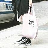 [마실러]MARSILER - PKTK BAG Pink 에코백