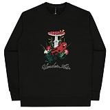 [언더에어] UNDERAIR Frog Star Sweat Shirt - Black 후디 후드티셔츠